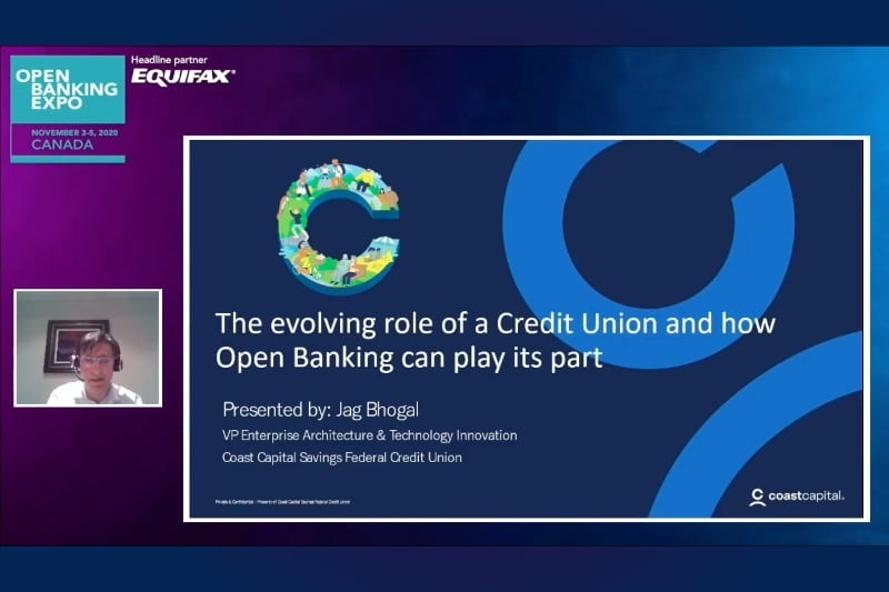 Open Banking Expo Canada 2020 - The evolving role of a Credit Union and how Open Banking can play its part