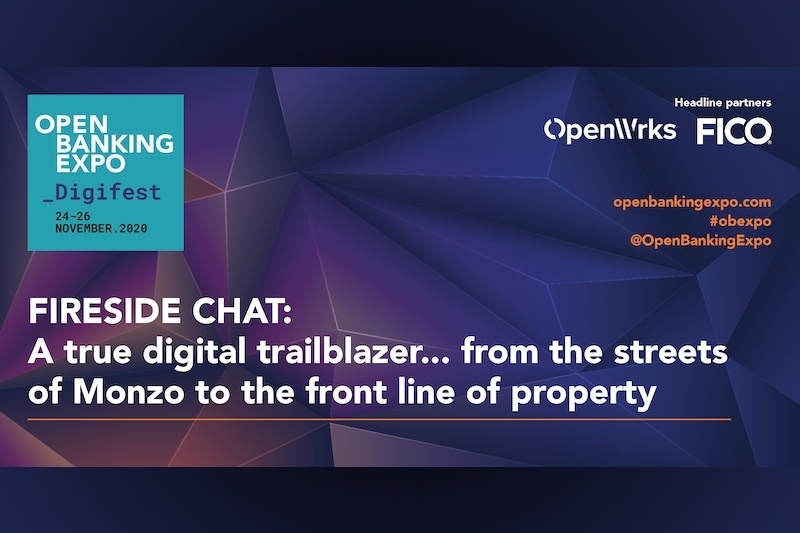 Poster - OBE Digifest 2020 - A true digital trailblazer… from the streets of Monzo to the front line of property