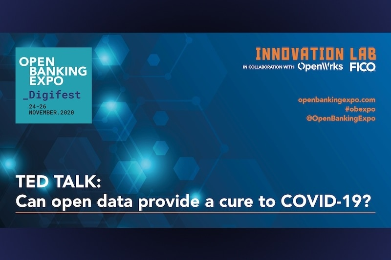 Poster - OBE Digifest 2020 - Can open data provide a cure to Covid-19