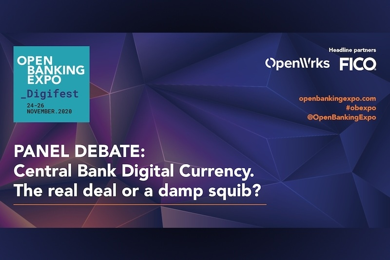 Poster - OBE Digifest 2020 - Central Bank Digital Currency – The real deal or a damp squib