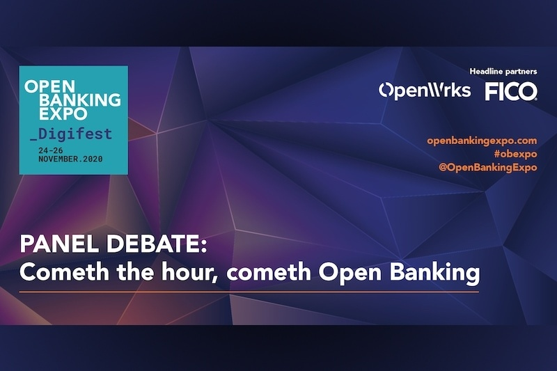 Poster - OBE Digifest 2020 - Cometh the hour, cometh Open Banking