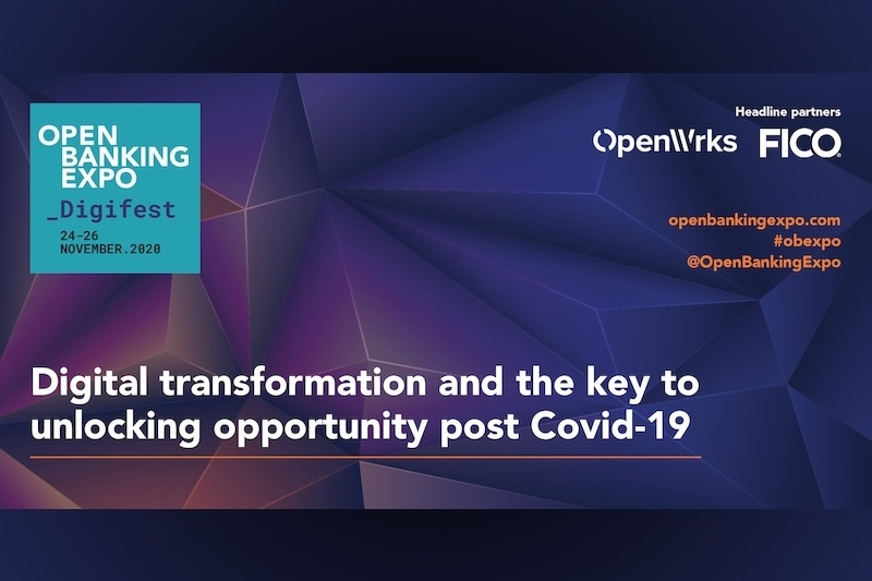 Poster - OBE Digifest 2020 - Digital transformation and the key to unlocking opportunity post Covid-19