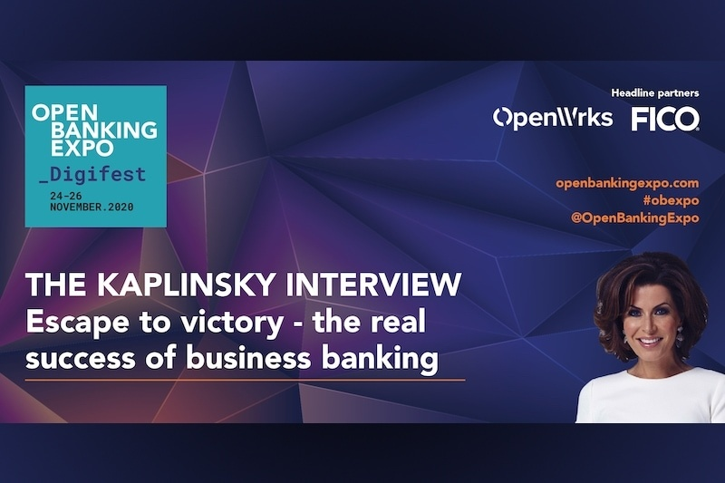 Poster - OBE Digifest 2020 - Escape to victory – the real success of business banking