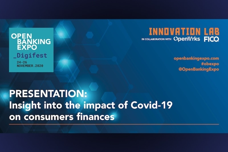 Poster - OBE Digifest 2020 - Insight into the impact of Covid-19 on consumers finances