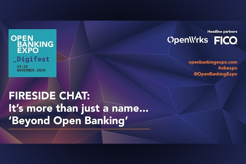 Poster - OBE Digifest 2020 - It's more than just a name… 'Beyond Open Banking'