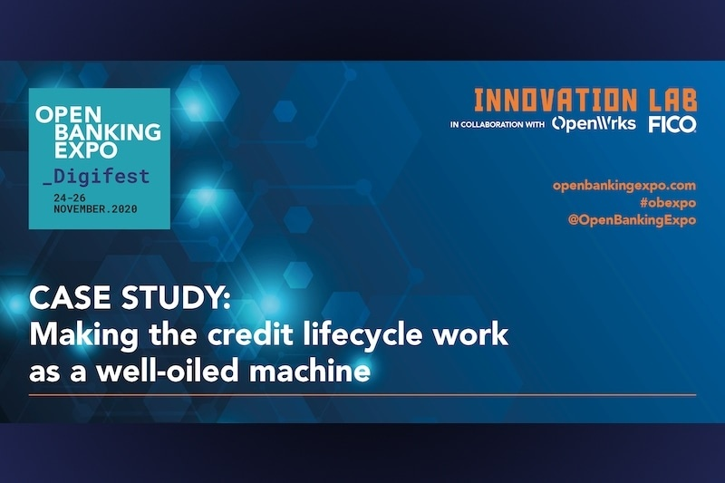 Poster - OBE Digifest 2020 - Making the credit lifecycle work as a well-oiled-machine