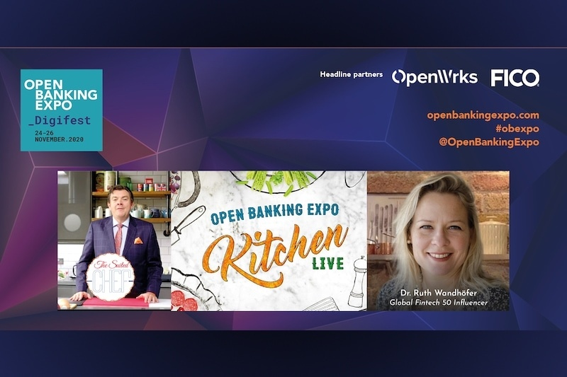 Poster - OBE Digifest 2020 - OPEN BANKING EXPO KITCHEN LIVE!