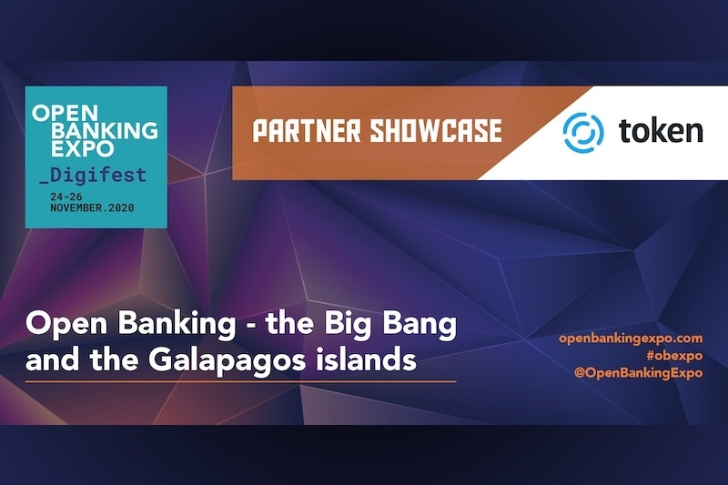 Poster - OBE Digifest 2020 - Open Banking – the Big Bang and the Galapagos islands