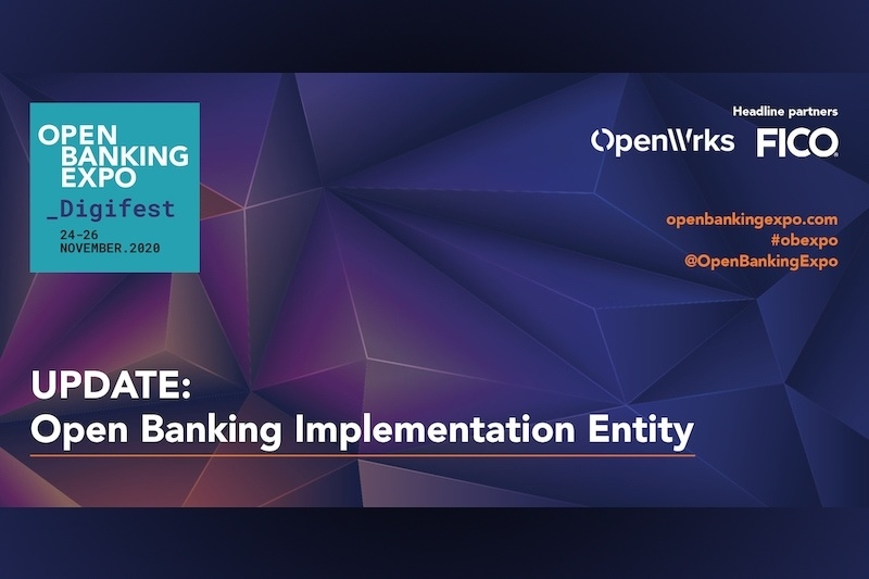 Poster - OBE Digifest 2020 - Open Banking Implementation Entity - Realising the Open Finance dream