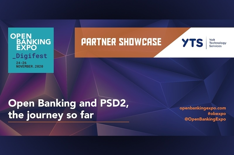 Poster - OBE Digifest 2020 - Open Banking and PSD2, the journey so far