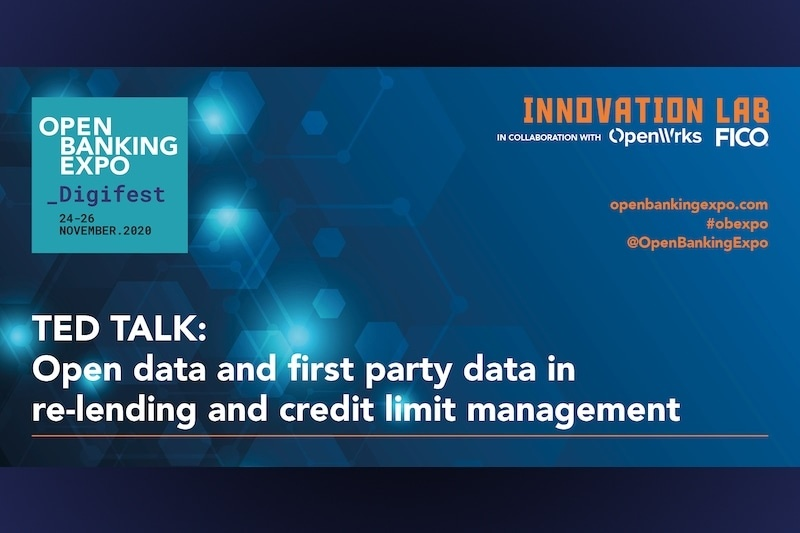 Poster - OBE Digifest 2020 - Open data and first party data in re-lending and credit limit management