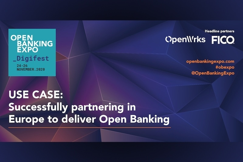 Poster - OBE Digifest 2020 - Successfully partnering in Europe to deliver Open Banking