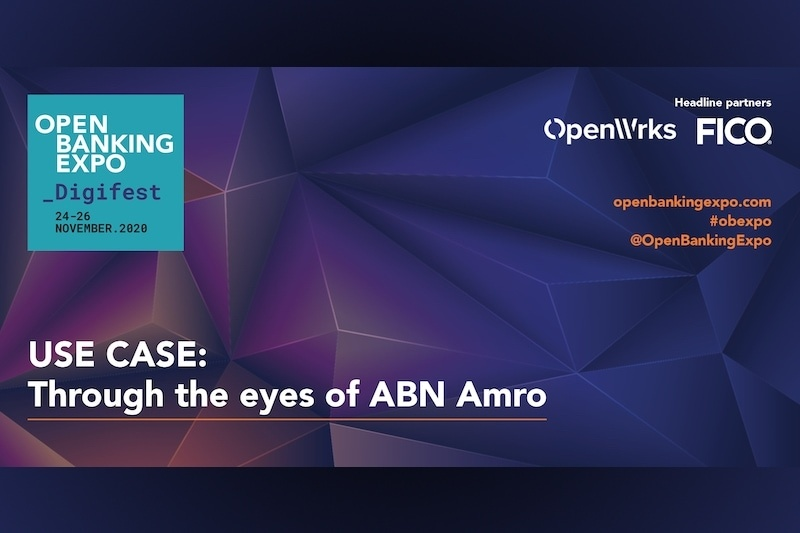 Poster - OBE Digifest 2020 - Through the eyes of ABN Amro