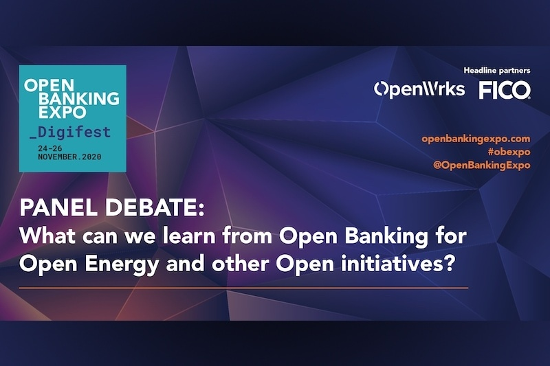 Poster - OBE Digifest 2020 - What can we learn from Open Banking for Open Energy and other Open initiatives_
