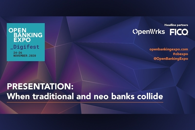 Poster - OBE Digifest 2020 - When traditional and neo banks collide